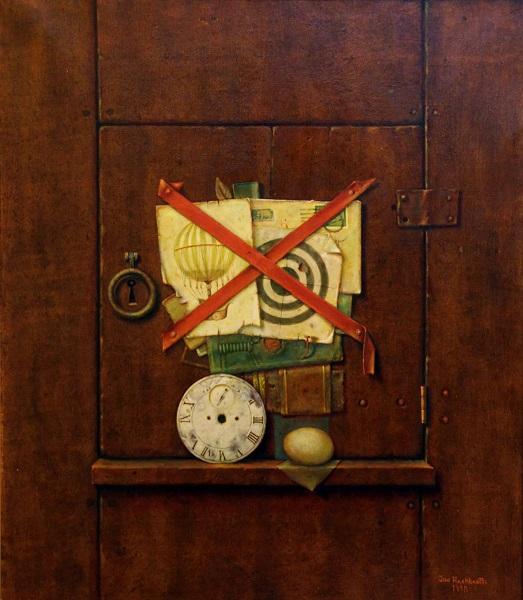 The Old Cupboard Door l